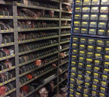 Plus de 15.000 références de pièces de rechange en stock pour un service de dépannage rapide chez Keymolen A&C