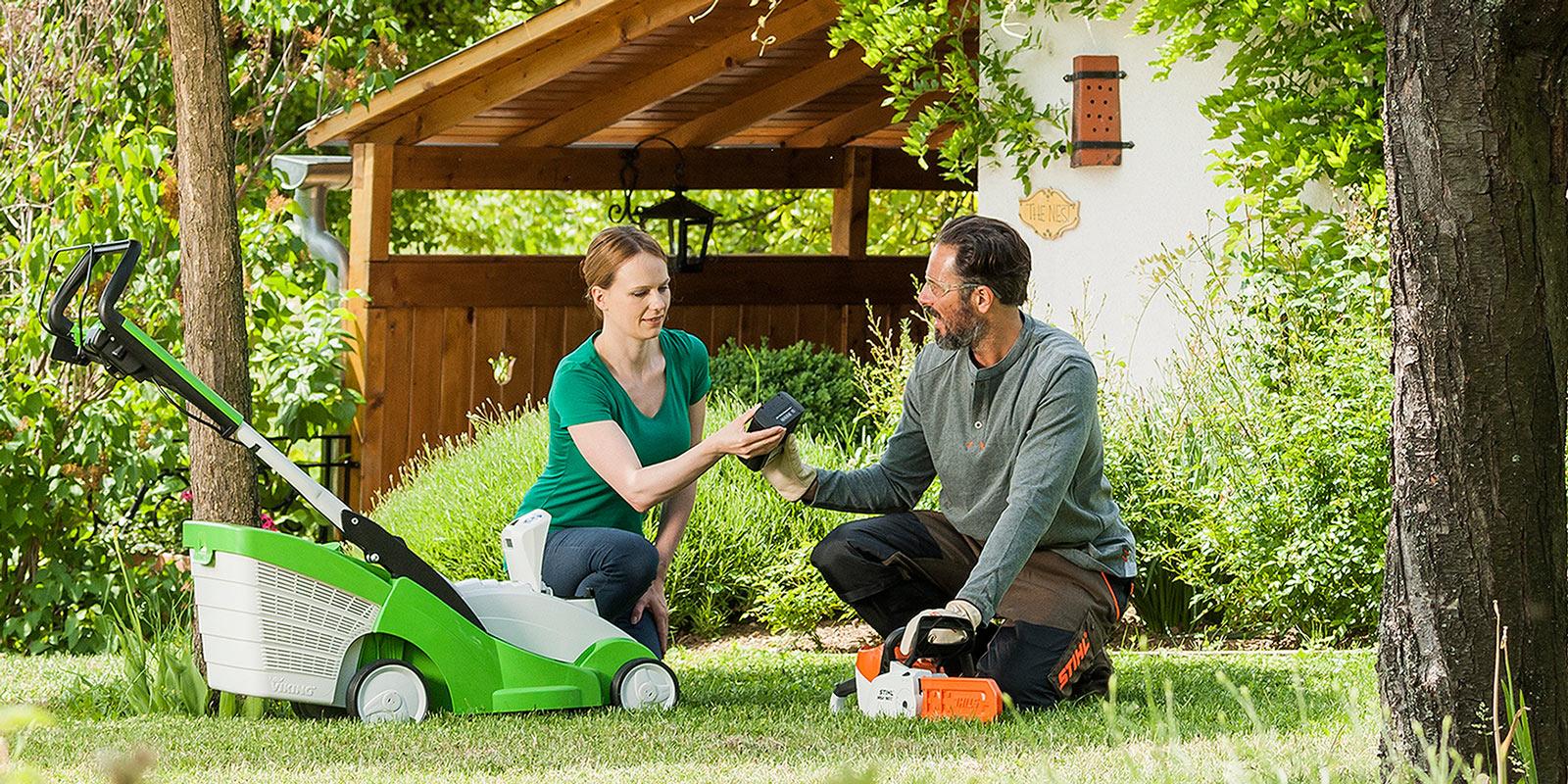 Tondeuse Viking et outillage Stihl en vente chez Keymolen A&C - Votre spécialiste en matériel pour espaces verts